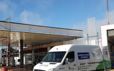 Construcción y remodelación de estaciones de servicio